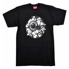 "Mishka NYC ""Damaged Keep Watch"" Tee (Black) Men's Short Sleeve Graphic T-Shirt"