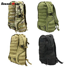 35L Outdoor Molle Tactical Military Shoulder Backpack  Hiking Climbing Bag 800D
