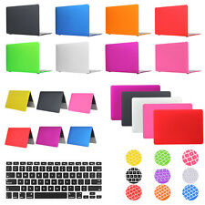 For Macbook Pro Retina 12/13/15 Air 11/13 Frosted Matte Case Cover Keyboard Skin
