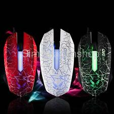 2400DPI Ergonomic LED Optical 6D USB Wired Gaming Mouse Mice For PC Laptop