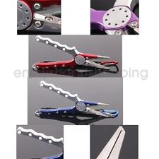 Fishing Pliers Scissors Fish Braid Line Cutter Hook Lure Remover Tackle Tool