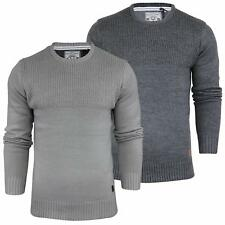 Mens Jumper by Brave Soul 'Zenny' Crew Neck Sweater Knitted Tops S-XL