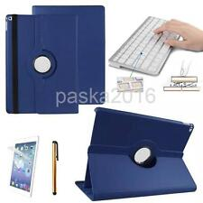 """Bluetooth Keyboard PU Leather Case Rotating Cover for ipad Pro 12.9"""" Tablet"""
