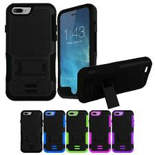For IPhone 7 / 7S / 4.7 Hybrid Box Shockproof Rugged Kickstand Hard Case Cover