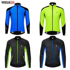 Winter Thermal Fleece Cycling Jacket Windproof Cycling Clothing Coat Bike Riding