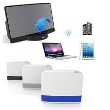 Portable 30Pin Dock Speaker Bluetooth Music Receiver Adapter For iPhone iPod
