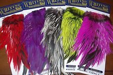 Whiting Farms Hackle American Rooster Saddles Fly Tying Feathers