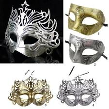 Retro Venetian Mask Costume Props Carnival Party Mask Ball Cosplay Men Eye Mask