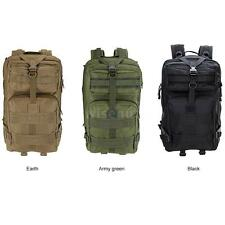 45L MOLLE Military Rucksack Tactical Backpack Travel Camp Hiking Sports Bag Q5C6