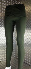 Genuine British Army / Forces. Long Johns / Thermal Underwear Light Olive - NEW