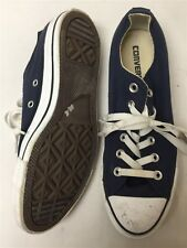 Converse All Stars Women's sz 9 Blue Canvas Low Top Sneakers