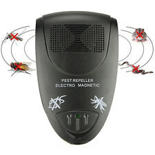 Electronic Ultrasonic Pest Control Repeller Anti Rat Mosquito Mouse Insect Bug !
