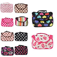 NEW 1X  Cosmetic Bag Makeup Case Pouch Toiletry Zip Wash Organizer Travele FT