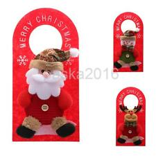 Pretty Doll Christmas Hanging Decorations Home Hotel Wall Door Xmas Hangings