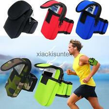 Armband Wrist Bag Strap Pouch Wallet Phone Holder Running Gym Jogging Arm Band