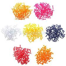 100 x Pro Plastic Castle Golf Tees Practice Accessory - 25mm-70mm Various Color