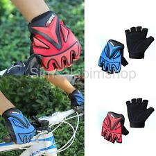 Outdoor Sports Racing Cycling Road Bicycle Soft Gel Half Finger Gloves M/L/XL