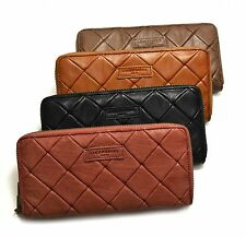 Liebeskind Berlin LESLEY PATCH Quilted Leather Zip Around Wallet