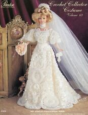 Paradise Vol 63, 1901 Jeweled French Bridal Gown crochet patterns