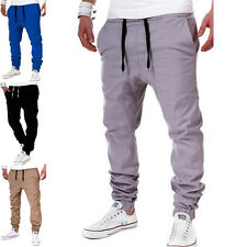 Mens Trousers Sweatpants Slacks Harem Pants Casual Jogger Sportwear Sport Baggy