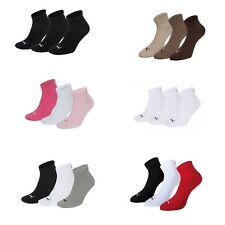 PUMA Trainer socks 3-Pack Quarters Many Colours