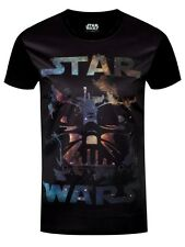 Star Wars Darth Vader All Over Print Men's Black T-shirt