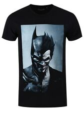 Batman Arkham Origins Batman Joker Men's Black T-shirt