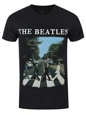 The Beatles Abbey Road Men's Black T-shirt