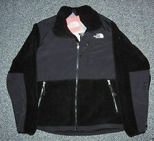 THE NORTH FACE WOMENS DENALI FLEECE JACKET- S,M,L,XL - BLACK/ BLACK- NEW