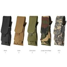 Single Army MOLLE Pistol Cartridge Clip Mag Magazine Pouch Holster B9F9