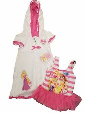 Disney Princess Toddler Girls Rapunzel & Friend Pink Swimsuit Set 4T