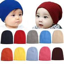 Unisex Baby Girl Kid Toddler Infant Cotton Beanie Hat Stretchy Knit Crochet Cap