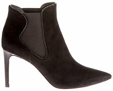TORY BURCH WOMEN'S 3215868515001 BLACK SUEDE ANKLE BOOTS