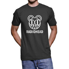 Radiohead T-Shirt, Modified Bear logo promotional campaign Black Tee