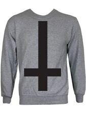 New Inverted Cross Grey Sweater