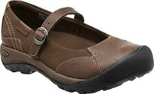 KEEN 1011433 Presidio MJ Womens Cascade Brown Leather Mary Jane Shoes Size 7 US