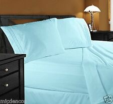 Premier 1800 Series 4pc Bed Sheet Set - Queen, Microfiber, Easy Care, Imported
