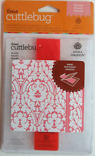 Cuttlebug Anna Griffin A2 Embossing Folder and Border Folder Set 2001943 Brocade