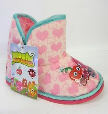 Moshi Monsters Girls Pink Luvli and Poppet Slipper Boots