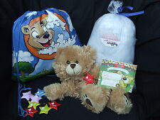 "Build Your Own Bear Party Kit - Make a 16"" BEAR - No Sew Ready to Stuff"