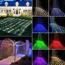 In/Outdoor LED Fairy String Net Light Christmas Xmas Garden Wedding Party Decor