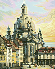 HandPainted Design Needlepoint Tapestry Canvas -Idris Meal Frauenkirche