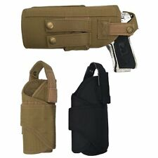 Military Tactical Molle Waist Pistol Holster Right Hand Gun Holster Adjustable