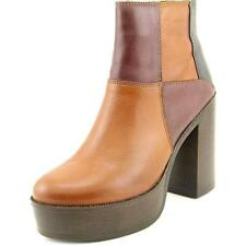 Steve Madden Gara Women  Round Toe Leather  Ankle Boot NWOB