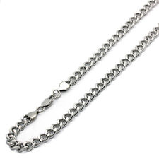 9mm Stainless Steel Chain Necklaces Cuban Link Curb Chain Gift box Ship from USA