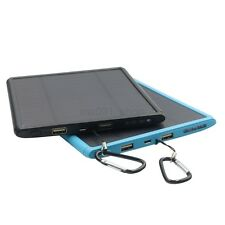 Solar Panel 600000mAh USB Charger Power Bank External Battery for iPhones 7 HTC