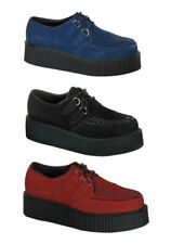Demonia CREEPER-402S Men'S 2 Inch Suede Platform Creeper