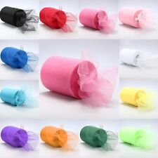 "Saling 6""x 25yd Tulle Roll Spool Tutu Wedding Party Gift Fabric Craft Decoration"
