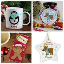 PERSONALISED CHILDRENS CHRISTMAS GIFTS STOCKING FILLERS Christmas Eve Gift Idea