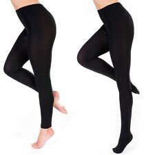 Ladies Thick Thermal Legging Tight Black Winter Womens Leggings Tight Warm